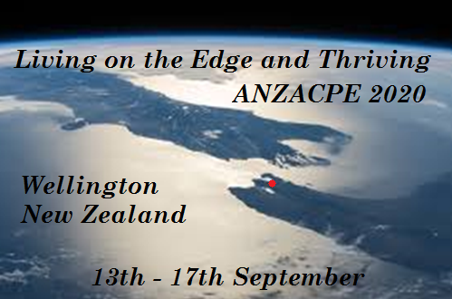 Image ofr ANZACPE Conference 2020 Wellington